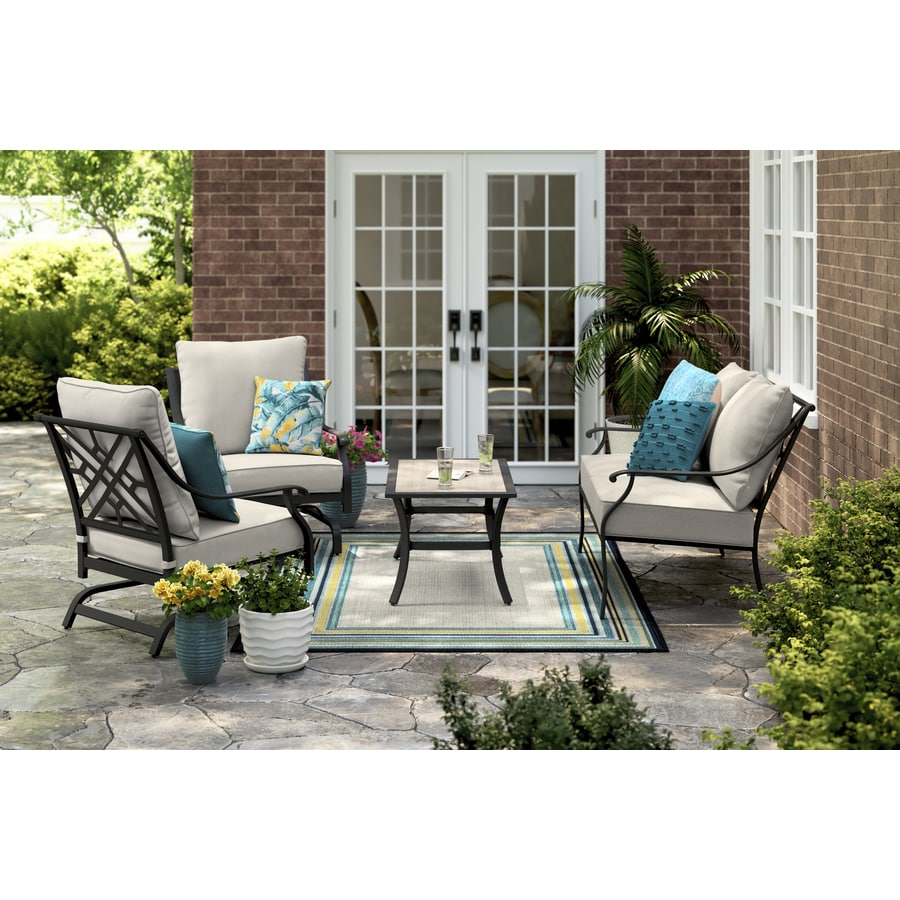 style selections patio furniture sets