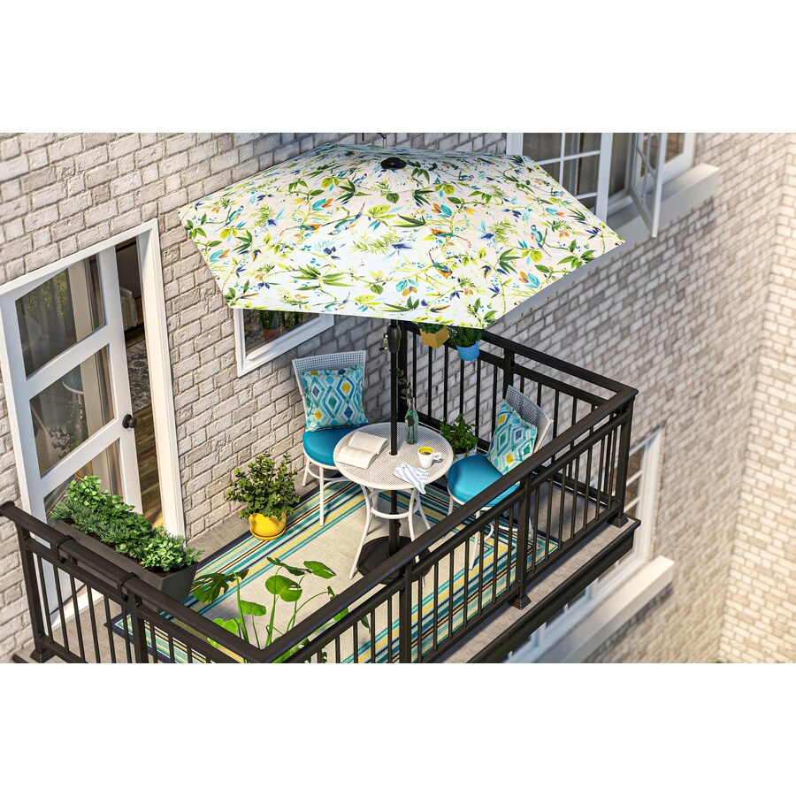 style selections sharondale 3 piece patio bistro set with umbrella
