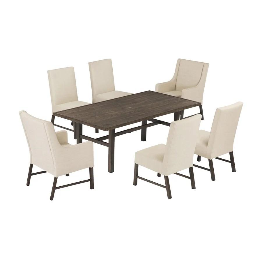 allen roth riverchase 7 piece patio dining set