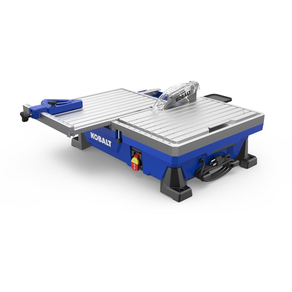Gas or electric powered with blades ranging from 10- to 14-inches and cutting depths up to 5 inches these saws are lightweight precise fast and easy to set up and operate. Tile Saws At Lowes Com