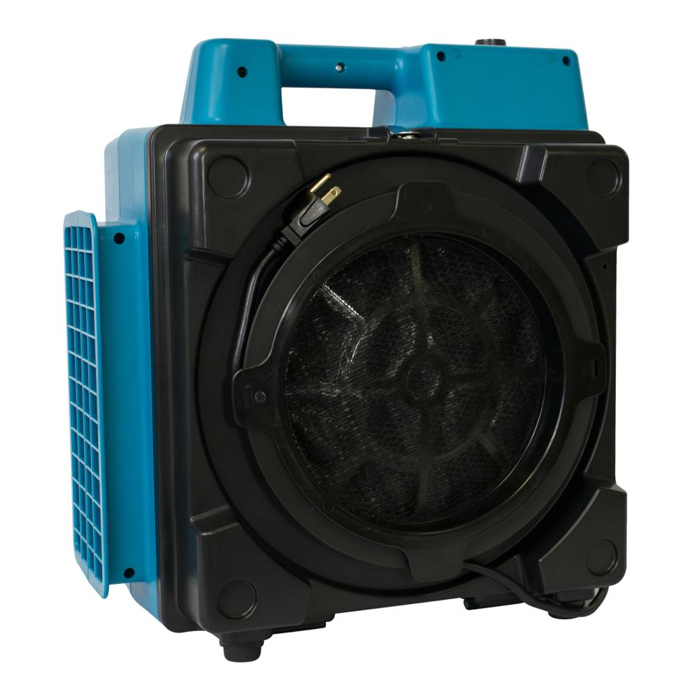 An air scrubber is an indoor portable air filtration device that allows you to remove any particles odors and some gases from the air in a given area. Xpower X 2580 5 Speed Covers 1200 Sq Ft Hepa Blue Air Purifier In The Air Purifiers Department At Lowes Com