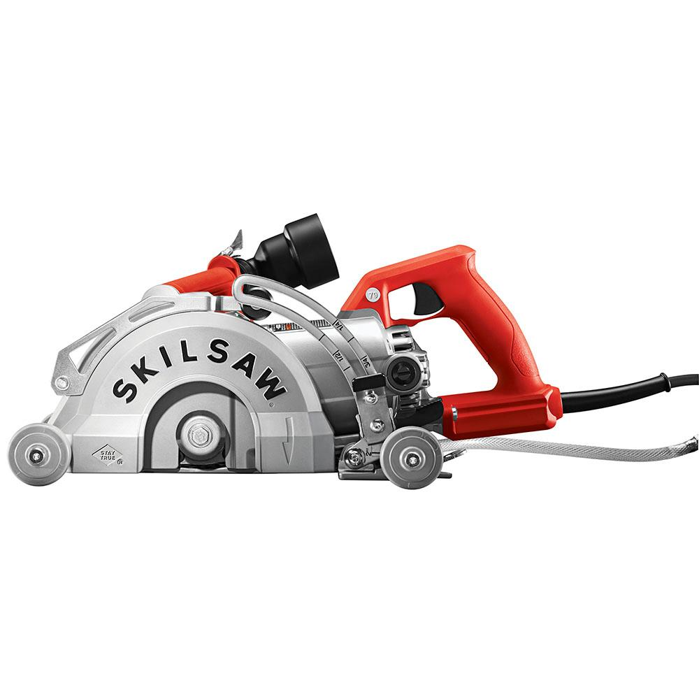 To clean your concrete driveway you need 3000 psi. Skil 7 In Worm Drive Corded Concrete Saw In The Concrete Saws Department At Lowes Com