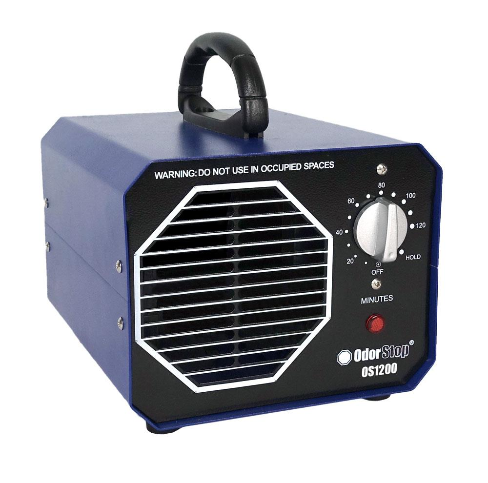 This equipments air flows up to 2400 cubic feet per minute. Odorstop 1 Speed Covers 1200 Sq Ft Non Hepa Blue Air Purifier In The Air Purifiers Department At Lowes Com