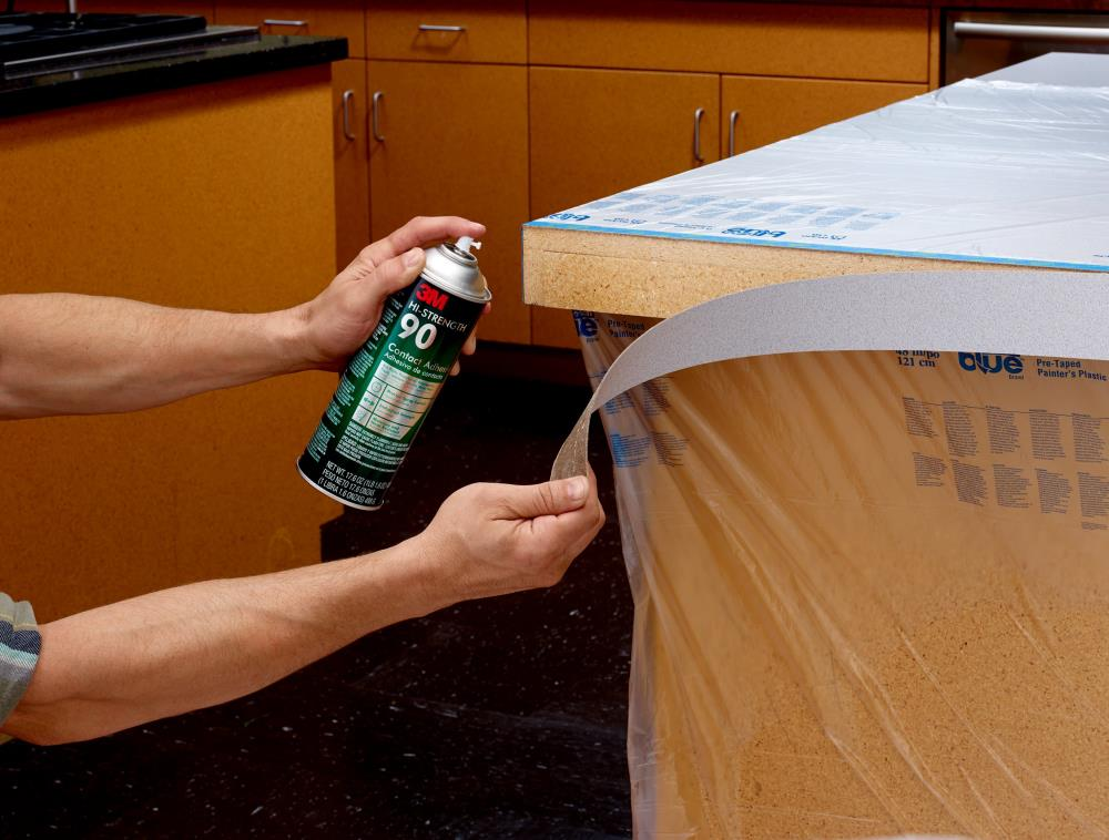 3m Hi Strength Spray 90 17 6 Oz Spray Adhesive In The Spray Adhesive Department At Lowes Com