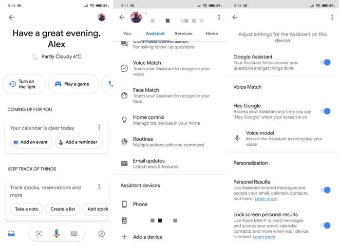 google assistant not responding
