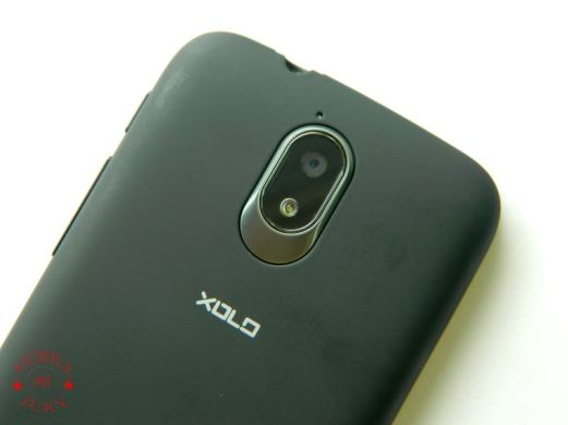 Xolo Play Back with fingerprints