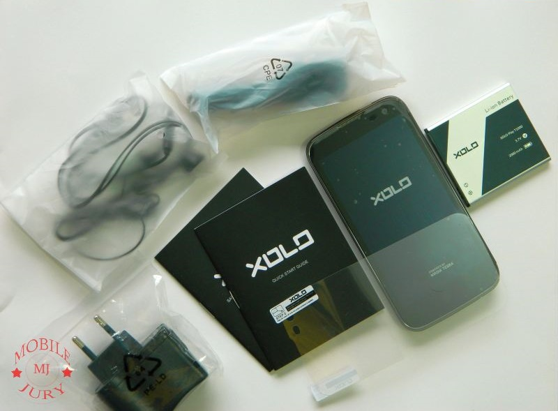 Xolo Play Box Contents