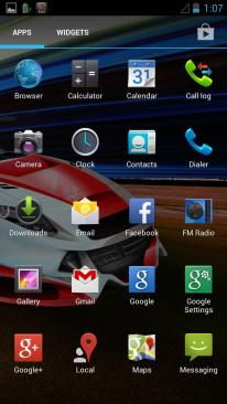 Xolo Play Default Apps 1