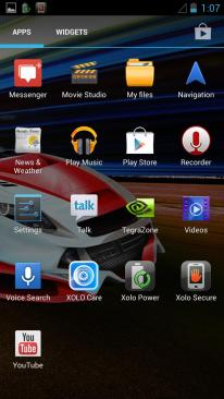 Xolo Play Default Apps 2