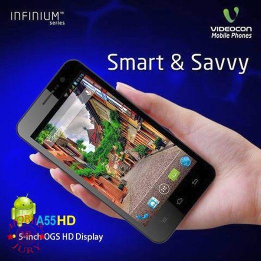videocon infiniu mobile series- Videocon A55 HD
