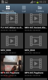 Video player galary_Samsung Galaxy Star Pro