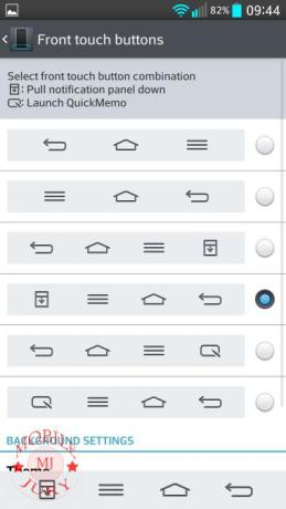 front touch buttons Selection_LG G2