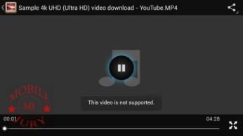 4K video in default video player_Karbonn Titanium S9