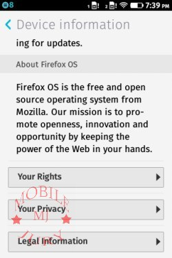 About Firefox OS