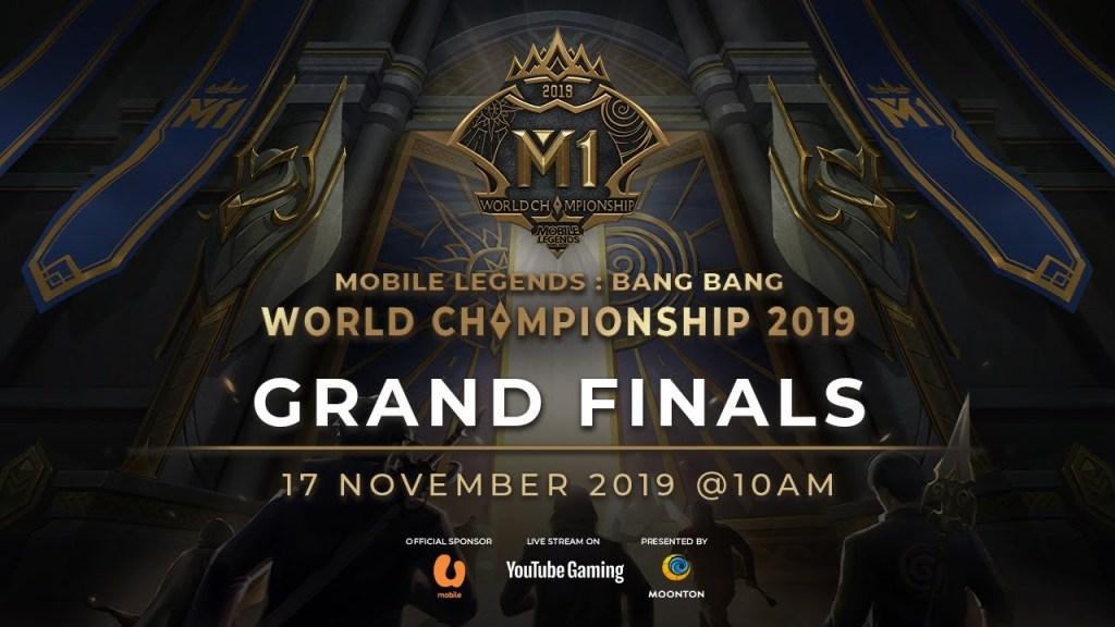 VOD MLBB World Championship 2019 Day 7 Grand finals