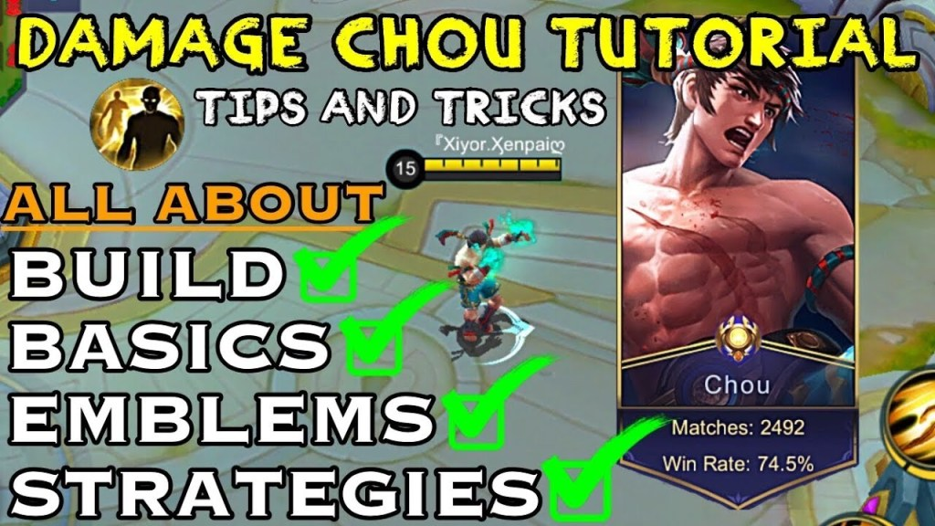 Become A Pro Chou 100% After This Tutorial - Tips and Tricks | Mobile Legends