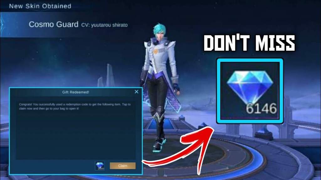 FREE DIAMONDS FOR EVERY PLAYER | MOBILE LEGENDS