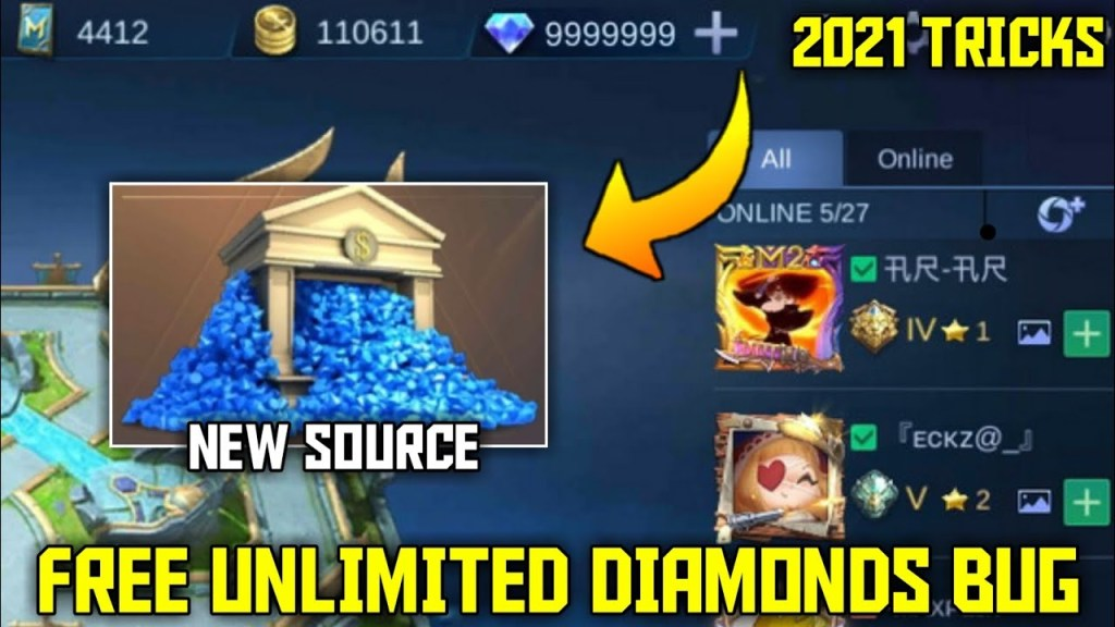 NEW TRICK TO GET FREE DIAMONDS | MOBILE LEGENDS