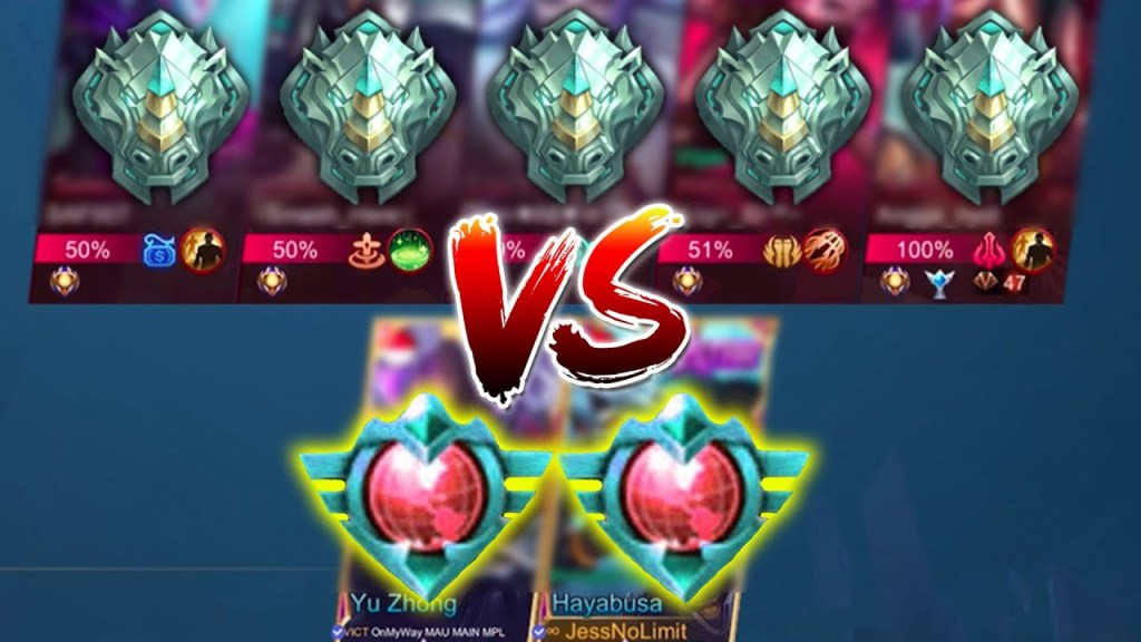 2 Top Global VS 5 Orang Epic - Mobile Legends