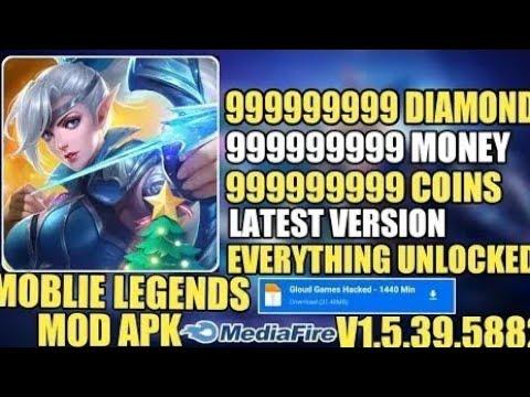 Mobile Legends Mod Apk v1 5 39 5882   MOD MENU Unlimited Diamonds GOD Mod Radar   Android iOS 2021