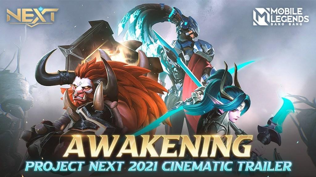 Awakening | Project Next 2021 Cinematic Trailer | Mobile Legends: Bang Bang