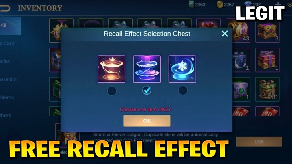 HOW TO GET FREE PERMANENT RECALL EFFECT (TUTORIAL) IN MOBILE LEGENDS