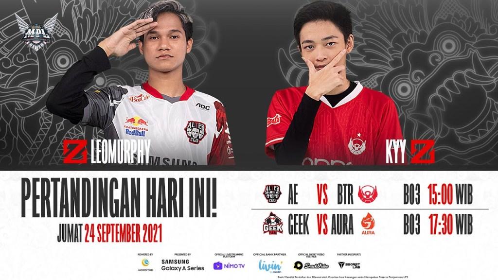 MPL ID S8 Regular Season Bahasa | Minggu ke-7 Hari 1 [Bahasa Indonesia]