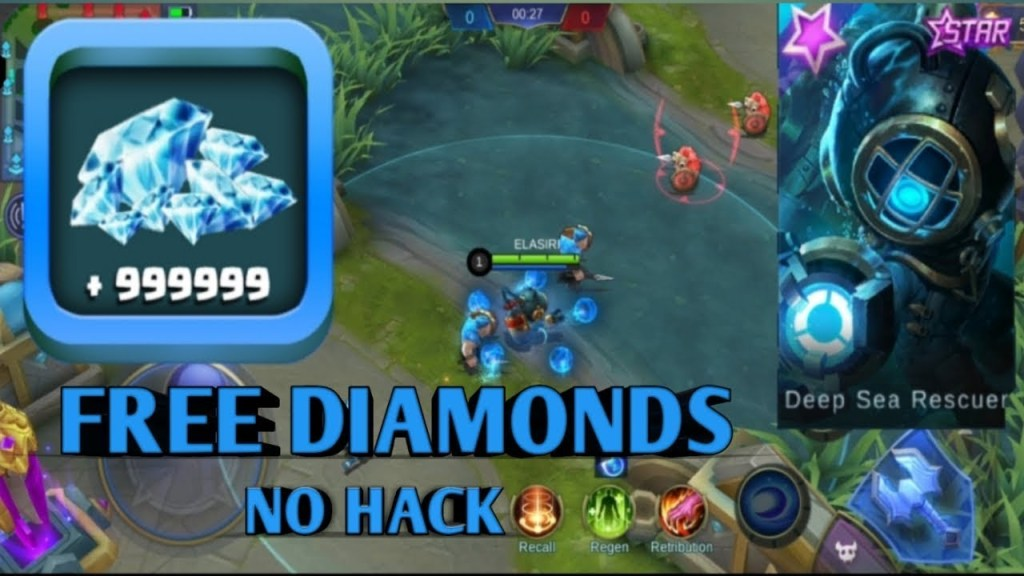 the best way to get free Diamonds in Mobile Legends