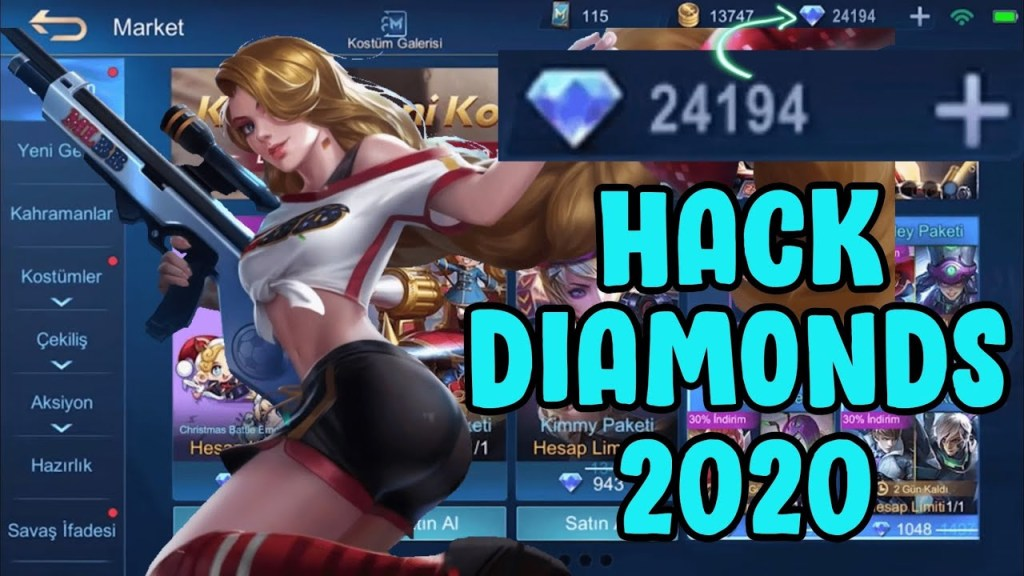 Mobile Legends Hack 2020 - Free Diamonds Android & iOS