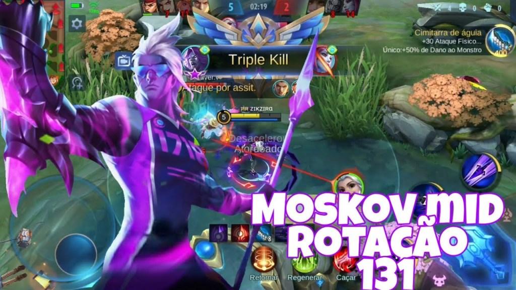 1 3 1   MOSKOV MID ! MOBILE LEGENDS