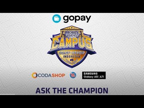 2020 MLCC Champion Team Interview - Mobile Legends Bang Bang Indonesia