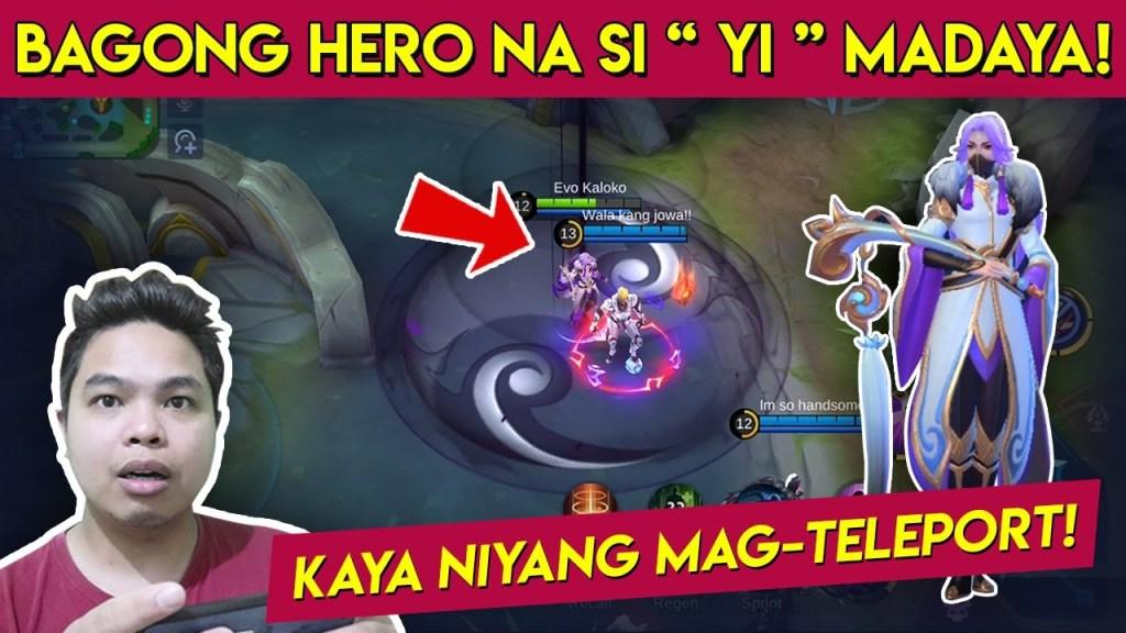 "Bagong Hero "" YI "" Madaya ba? - Mobile Legends"