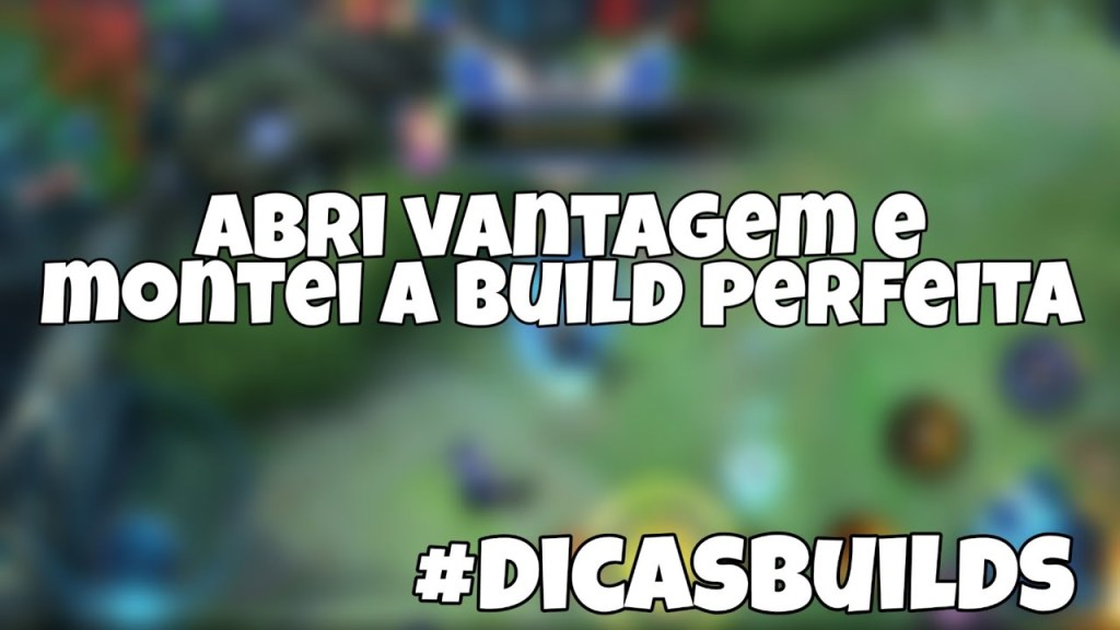 ISSO QUE É MONTAR BUILD   MOBILE LEGENDS