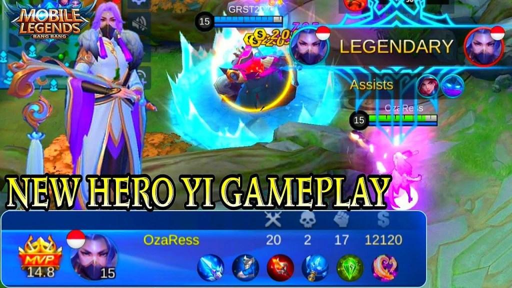 New Hero Yi Gameplay - Mobile Legends Bang Bang