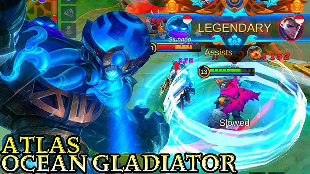 Next New Hero Atlas Ocean Gladiator - Mobile Legends Bang Bang