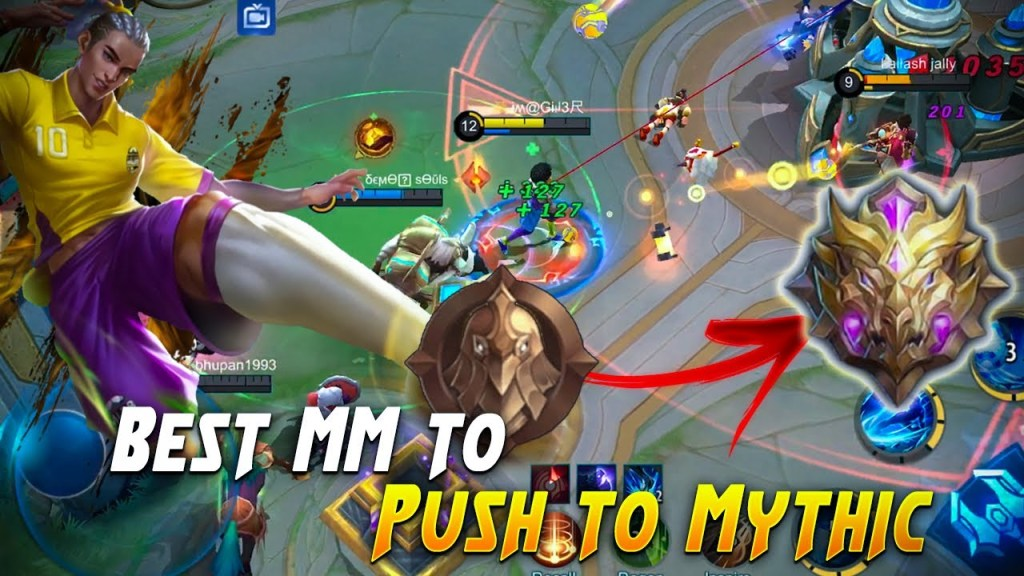 TOP 5 Marksman to PUSH To MYTHIC | Mobile Legends Bang Bang