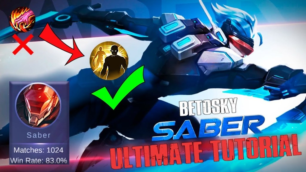 Become a PRO SABER after this - Ultimate Saber Tutorial (Eng Sub) | Mobile Legends Bang Bang