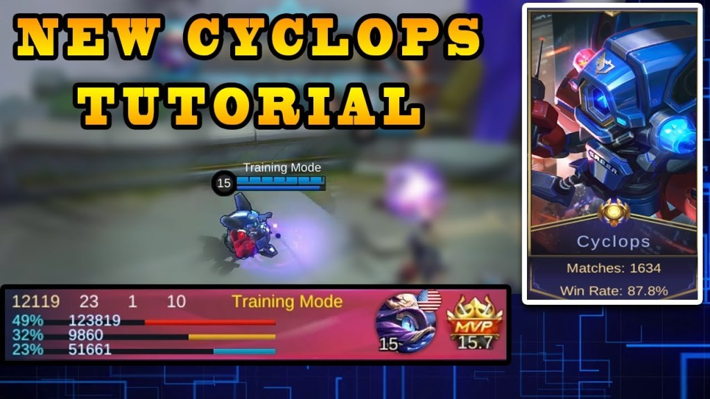 Dominate With Cyclops After This Tutorial | Mobile Legends