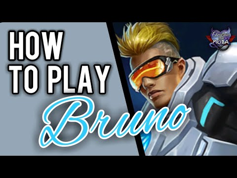 HOW TO USE BRUNO || MOBILE LEGENDS✔