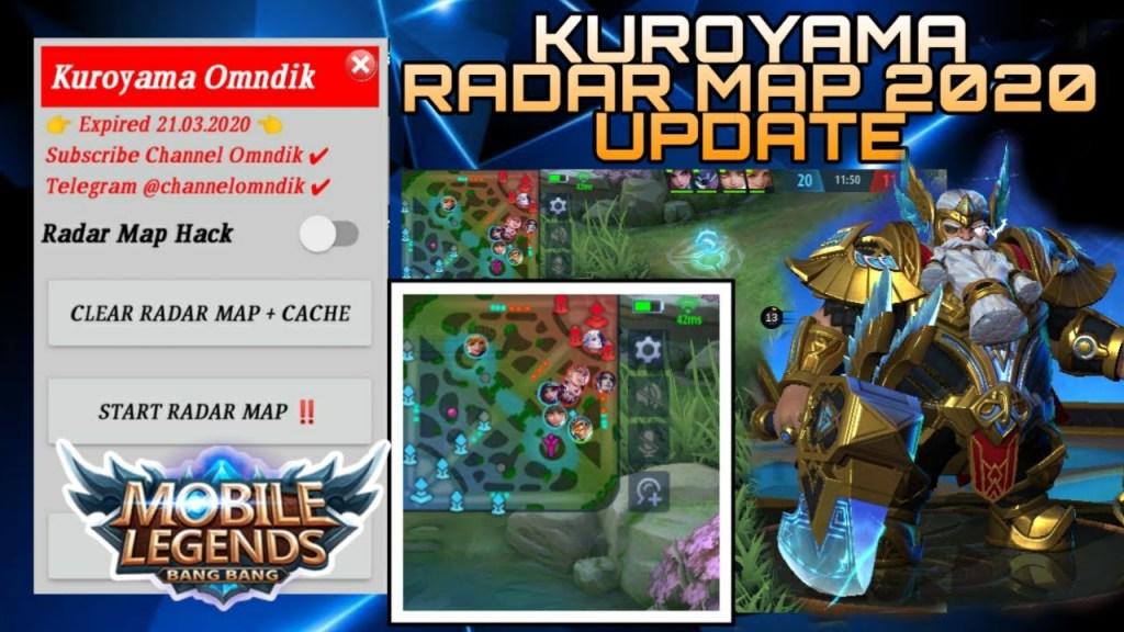 Kuroyama  Update Atlas Patch 2020 Map Hack Mobile Legends 2.0