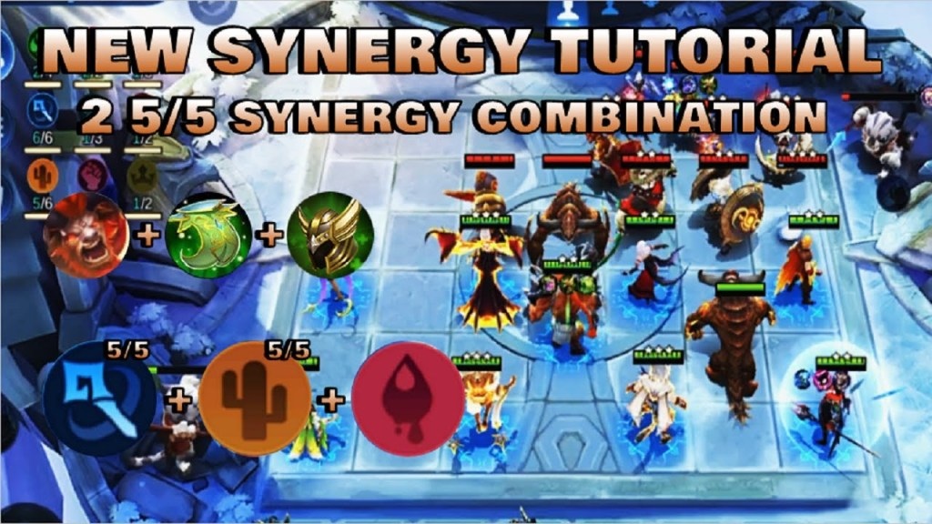 SYNERGY COMBINATION TUTORIAL - TOP GLOBAL MAGIC CHESS PLAYER | Mobile Legends Bang Bang