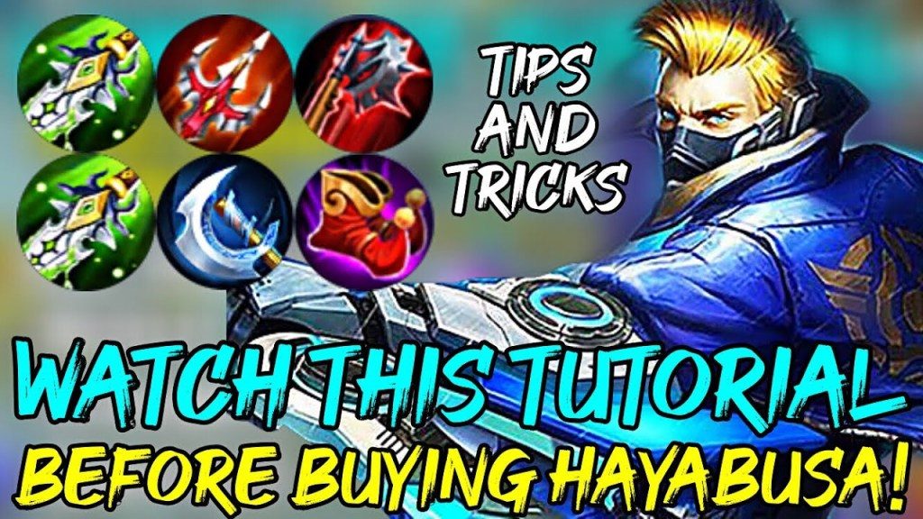 Watch This Tutorial Before Buying Hayabusa - Tips and Tricks | Mobile Legends
