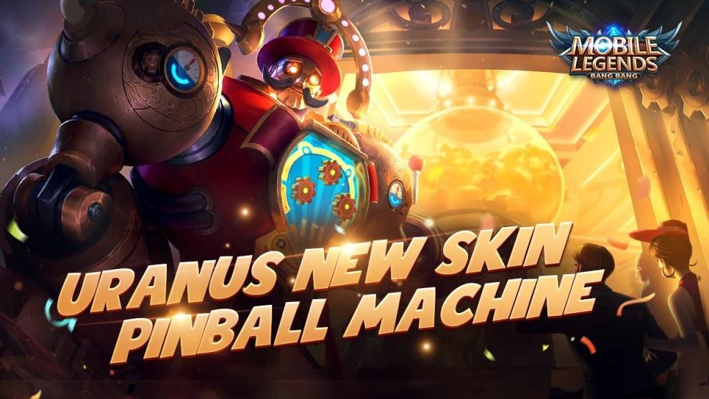 Uranus New Skin | Pinball Machine | Mobile Legends: Bang Bang!