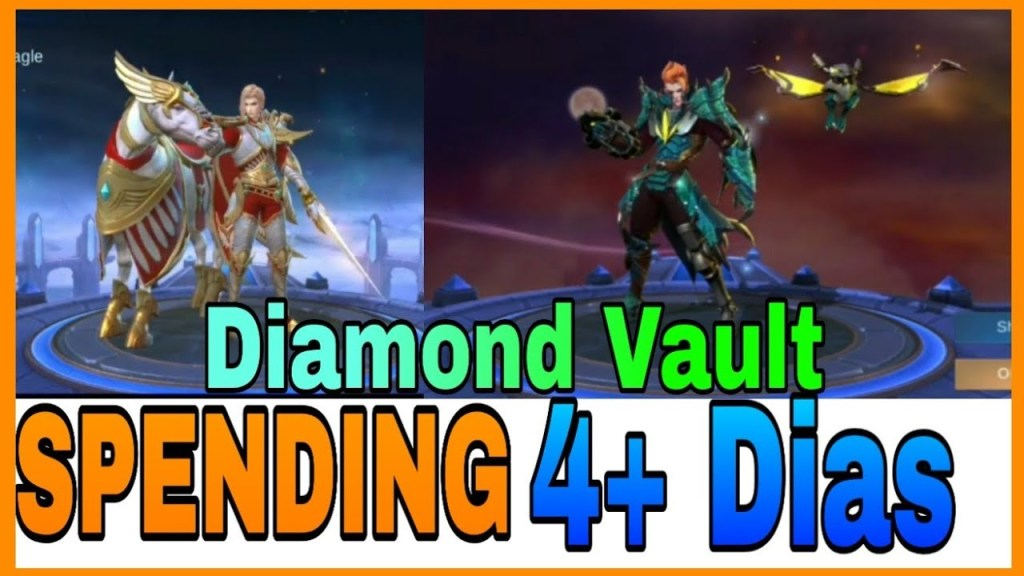Diamond Vault in Mobile Legends Spending 4200 For Skin Leo And Claude:)