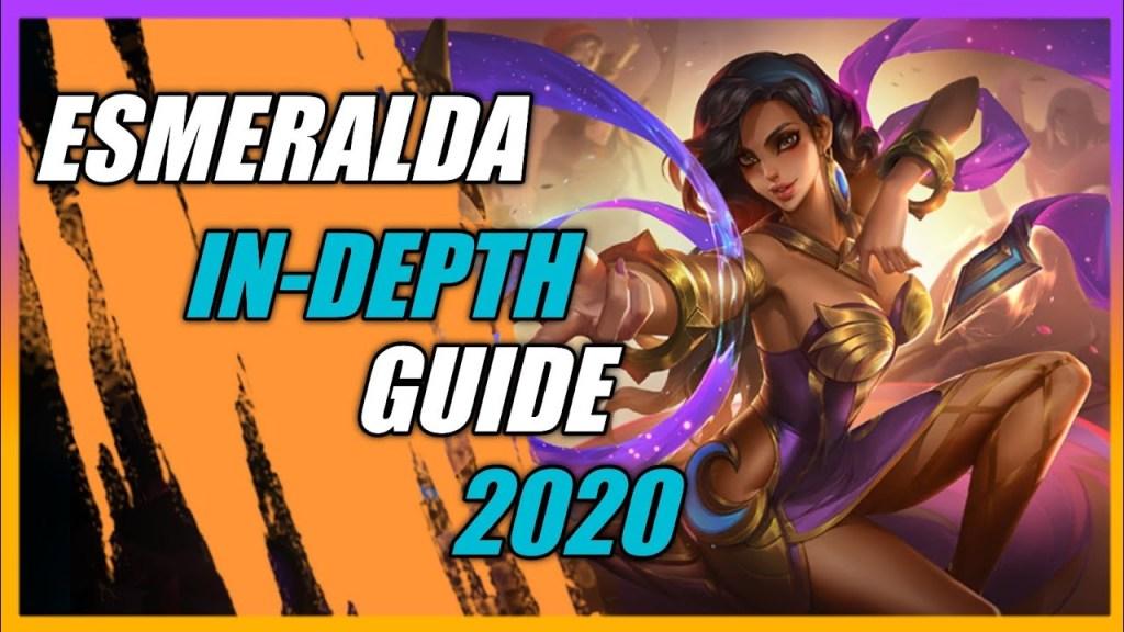 ONE OF THE BEST ESMERALDA GUIDE EVER 2020 | ESMERALDA IN-DEPTH GUIDE | Mobile Legends Bang: Bang