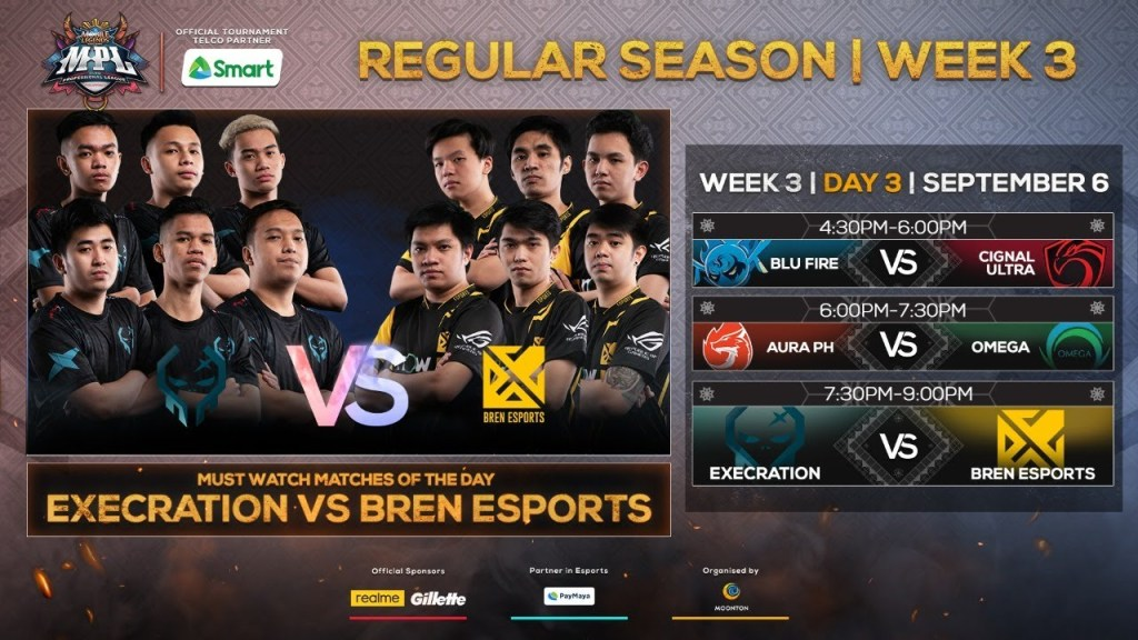 (Filipino LIVE) LIVE NOW: MPL-PH Season 6 Regular Season Week 3 Day 3