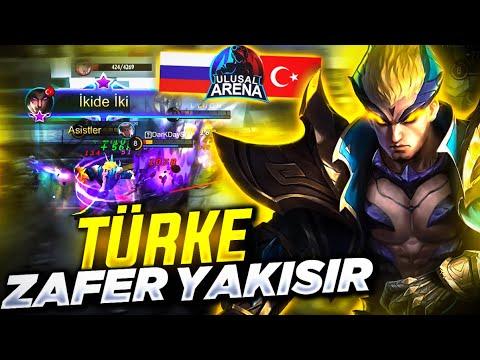 İZLEYENLER ÇOŞUYOR! - TÜRKİYE VS RUSYA - MOBILE LEGENDS
