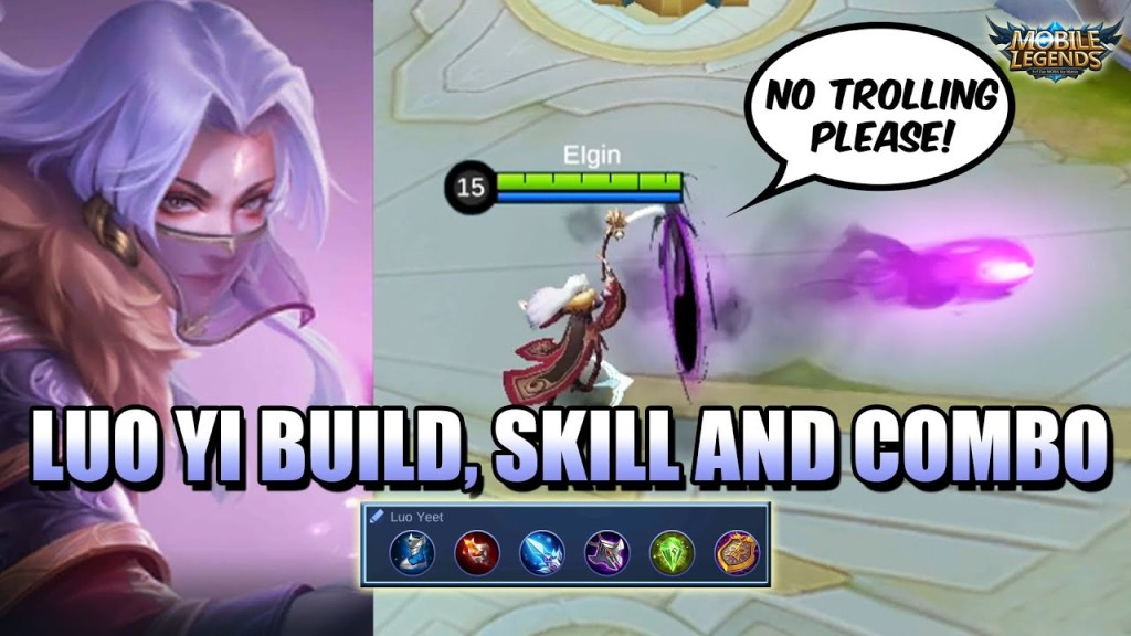 LUO YI GUIDE - THE TROLL QUEEN HAS ARRIVED - BUILD, SKILLS AND COMBO GUIDE MLBB