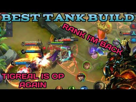 TIGREAL BEST BUILD | TIGREAL TIPS AND TRICKS | TIGREAL GUIDE AND TUTORIAL