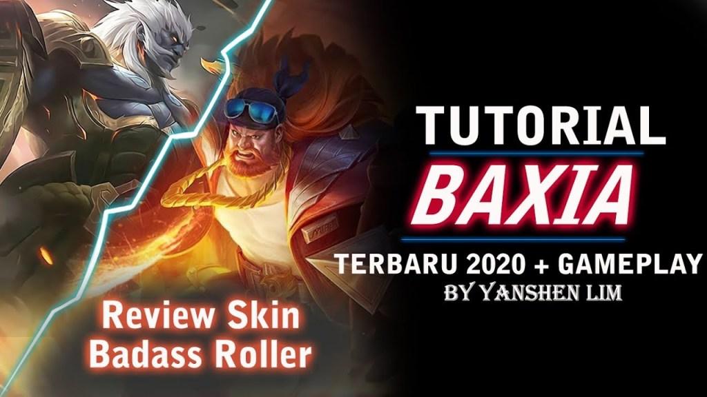 Tutorial cara pakai BAXIA TERBARU 2020 Mobile Legend Indonesia